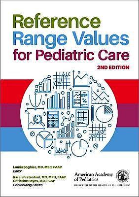Portada del libro 9781610022804 Reference Range Values for Pediatric Care