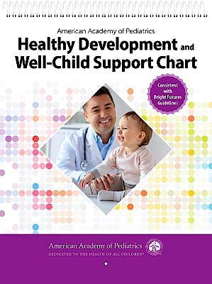 Portada del libro 9781610024020 AAP Healthy Development and Well-Child Support Chart
