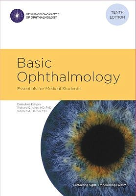 Portada del libro 9781615258048 Basic Ophthalmology. Essentials for Medical Students