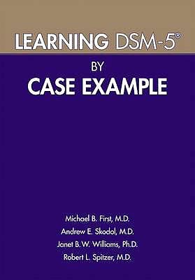 Portada del libro 9781615370160 Learning DSM-5 by Case Example