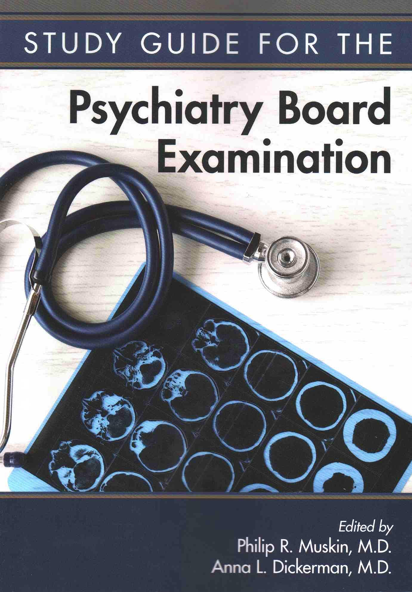 Portada del libro 9781615370337 Study Guide for Psychiatry Board Examination