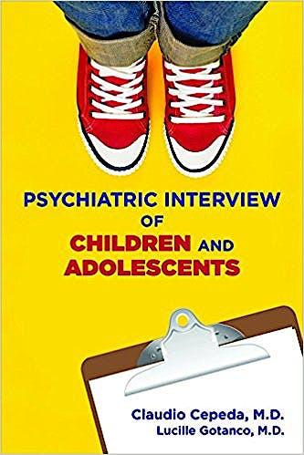 Portada del libro 9781615370481 Clinical Manual for the Psychiatric Interview of Children and Adolescents