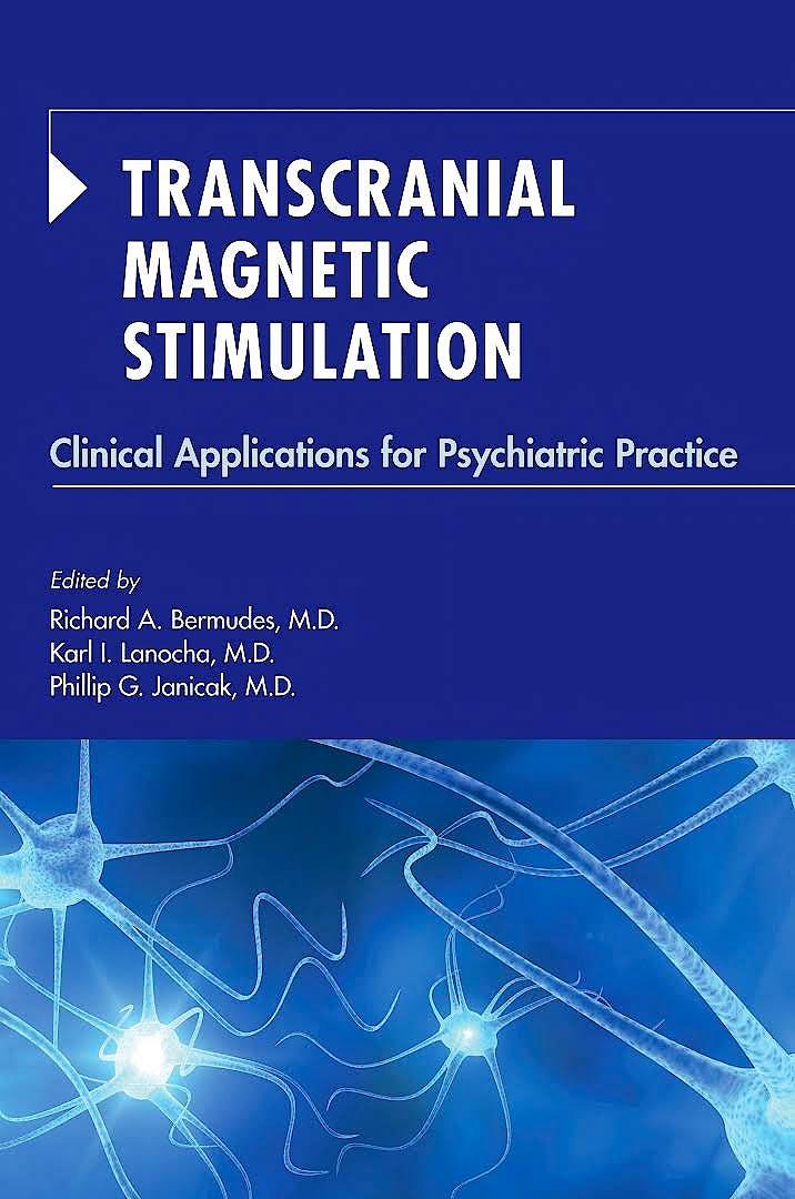 Portada del libro 9781615371051 Transcranial Magnetic Stimulation. Clinical Applications for Psychiatric Practice