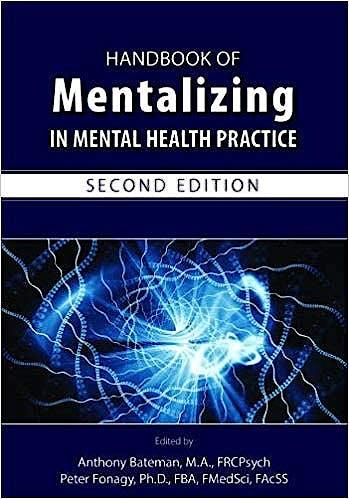 Portada del libro 9781615371402 Handbook of Mentalizing in Mental Health Practice