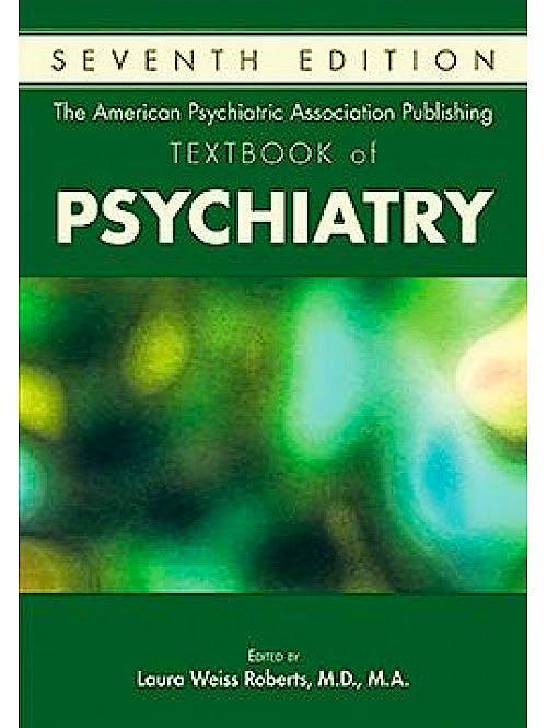 Portada del libro 9781615371501 TheAmericanPsychiatricAssociationPublishing TextbookofPsychiatry