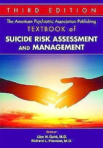 Portada del libro 9781615372232 The American Psychiatric Association Publishing Textbook of Suicide Risk Assessment and Management