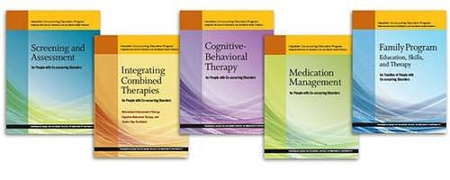 Portada del libro 9781616495480 Co-Occurring Disorders Program (Cdp) Complete Set. Integrated Services for Substance Use and Mental Health Problems. Revised Edition (7 Books + Dvd)