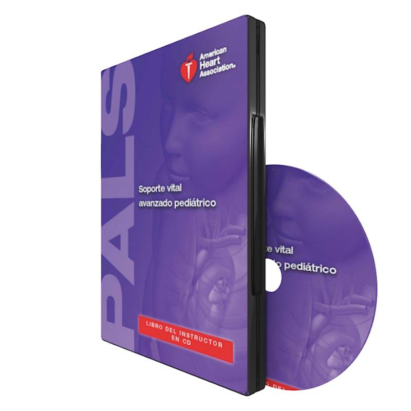 Portada del libro 9781616692742 Soporte Vital Avanzado Pediatrico (PALS). Libro del Instructor en CD