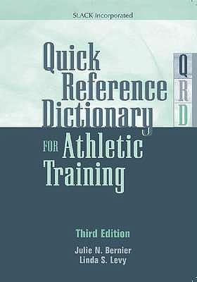 Portada del libro 9781617110689 Quick Reference Dictionary for Athletic Training
