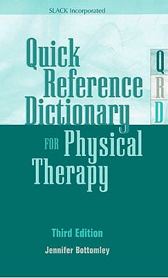 Portada del libro 9781617110702 Quick Reference Dictionary for Physical Therapy