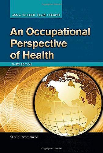 Portada del libro 9781617110870 An Occupational Perspective of Health