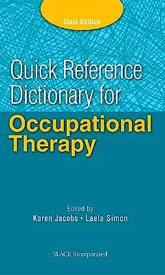 Portada del libro 9781617116469 Quick Reference Dictionary for Occupational Therapy