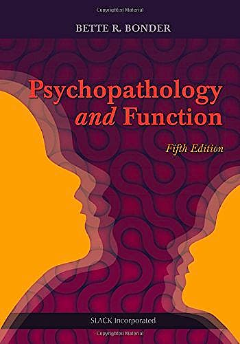 Portada del libro 9781617118845 Psychopathology and Function