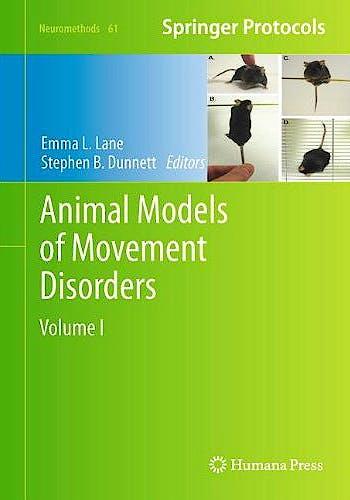 Portada del libro 9781617792977 Animal Models of Movement Disorders, Vol. I (Neuromethods, Vol. 61)