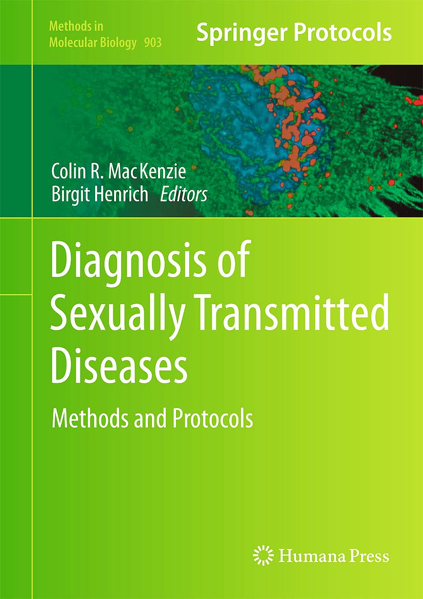 Portada del libro 9781617799365 Diagnosis of Sexually Transmitted Diseases. Methods and Protocols (Methods in Molecular Biology, Vol. 903)