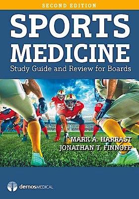 Portada del libro 9781620700884 Sports Medicine. Study Guide and Review for Boards