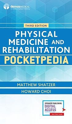 Portada del libro 9781620701164 Physical Medicine and Rehabilitation Pocketpedia