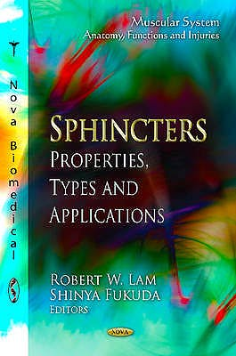 Portada del libro 9781621001904 Sphincters. Properties, Types and Applications (Muscular System. Anatomy, Functions and Injuries)