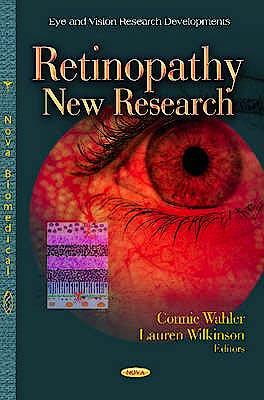 Portada del libro 9781621005858 Retinopathy: New Research