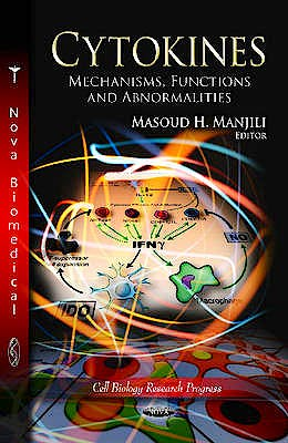 Portada del libro 9781621009290 Cytokines. Mechanisms, Functions and Abnormalities