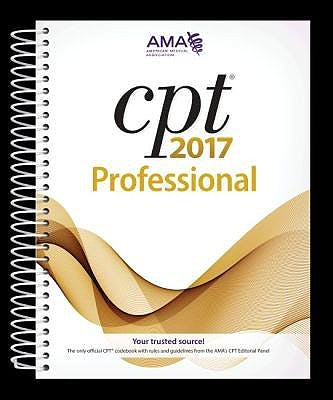 Portada del libro 9781622024001 Cpt 2017 Professional Edition