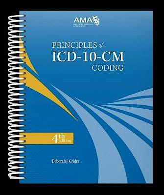 Portada del libro 9781622025558 Principles of Icd-10-Cm Coding