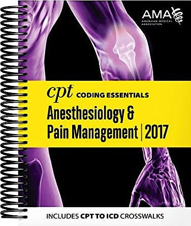 Portada del libro 9781622025732 Cpt Coding Essentials for Anesthesiology and Pain Management 2017