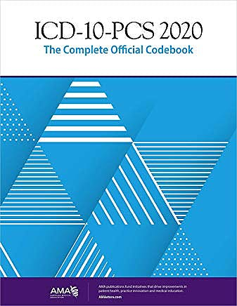Portada del libro 9781622029266 ICD-10-PCS 2020 The Complete Official Codebook (Softcover)