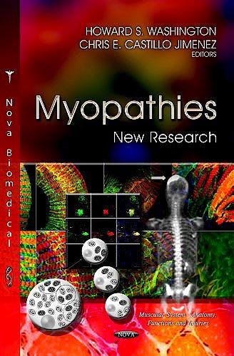 Portada del libro 9781622573264 Myopathies: New Research