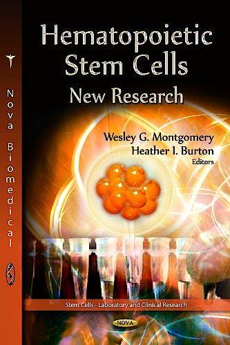 Portada del libro 9781622574681 Hematopoietic Stem Cells. New Research