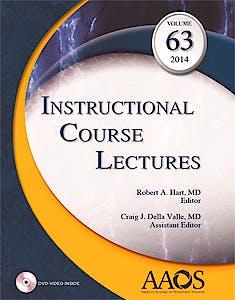 Portada del libro 9781625521293 Instructional Course Lectures, Vol. 63 + Dvd
