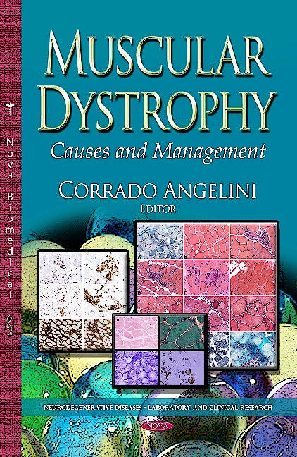 Portada del libro 9781626184602 Muscular Dystrophy. Causes & Management (Neurodegenerative Diseases Series)