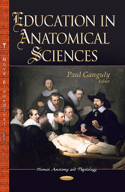 Portada del libro 9781626184886 Education in Anatomical Sciences (Human Anatomy & Physiology Series)