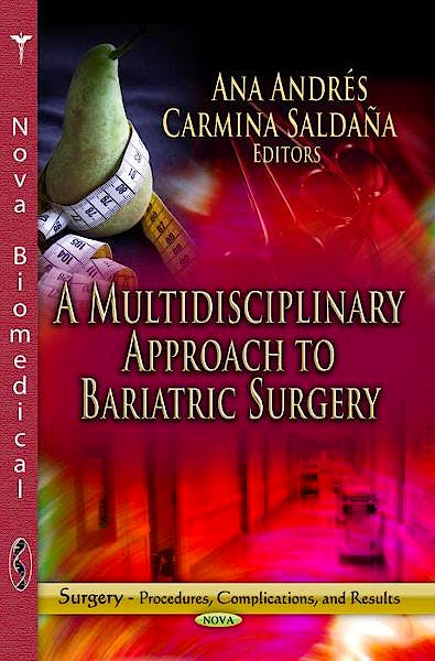 Portada del libro 9781626185944 A Multidisciplinary Approach to Bariatric Surgery