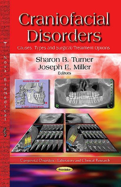 Portada del libro 9781626189232 Craniofacial Disorders. Causes, Types & Surgical / Treatment Options (Congenital Disorders Series)
