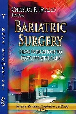 Portada del libro 9781626189959 Bariatric Surgery. from Indications to Postoperative Care