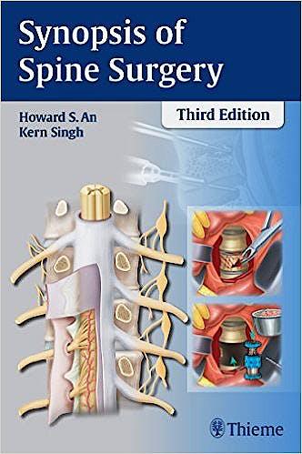 Portada del libro 9781626230309 Synopsis of Spine Surgery