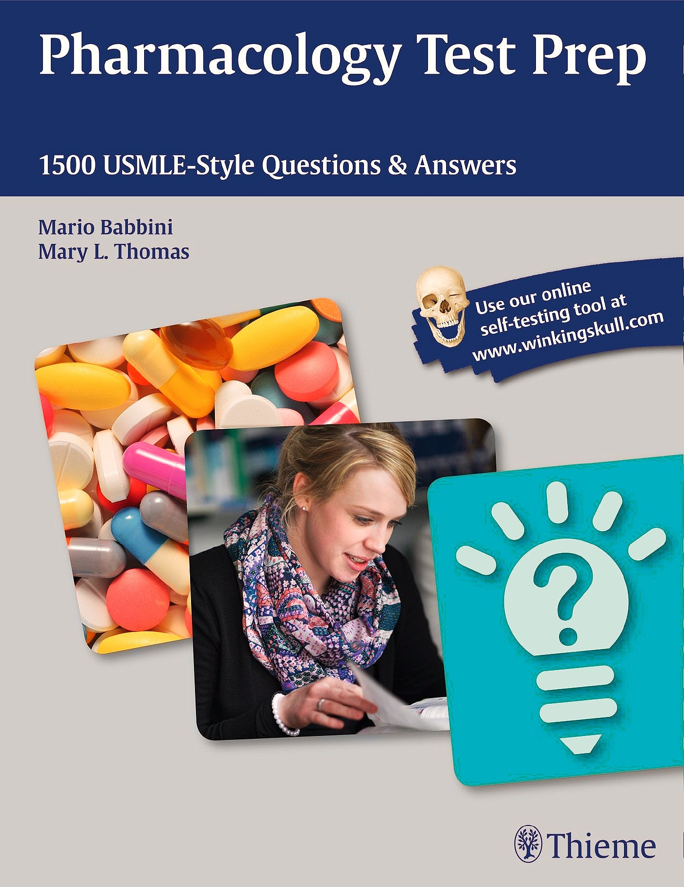 Portada del libro 9781626230415 Pharmacology Test Prep. 1500 Usmle-Style Questions and Answers