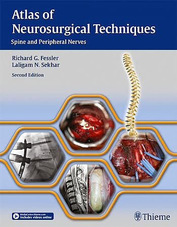 Portada del libro 9781626230545 Atlas of Neurosurgical Techniques. Spine and Peripheral Nerves