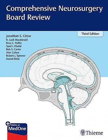 Portada del libro 9781626231023 Comprehensive Neurosurgery Board Review