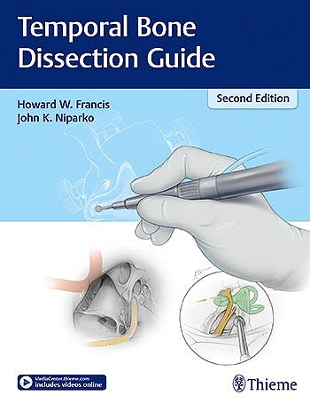 Portada del libro 9781626231139 Temporal Bone Dissection Guide