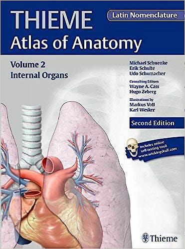 Portada del libro 9781626231672 Thieme Atlas of Anatomy, Vol. 2: Internal Organs (Latin Nomenclature)