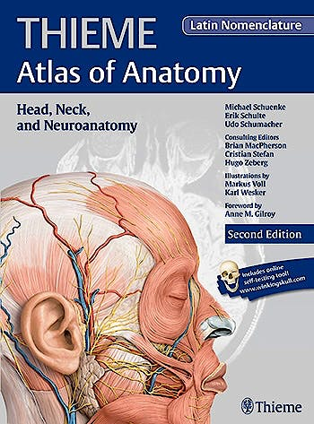 Portada del libro 9781626231696 Thieme Atlas of Anatomy, Vol. 3: Head, Neck, and Neuroanatomy (Latin Nomenclature)