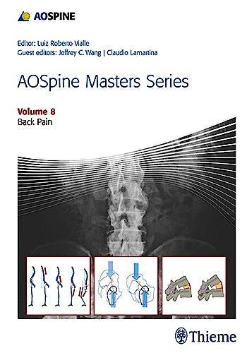Portada del libro 9781626232297 AOSpine Masters Series, Vol. 8: Back Pain
