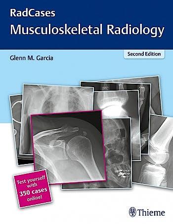 Portada del libro 9781626232440 Musculoskeletal Radiology (Radcases Series) + 350 Cases Online
