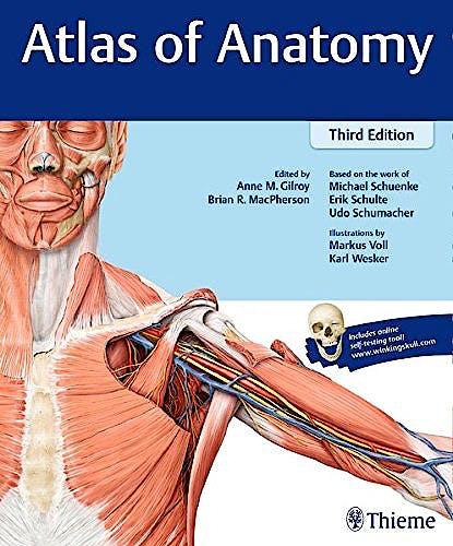 Portada del libro 9781626232525 Atlas of Anatomy