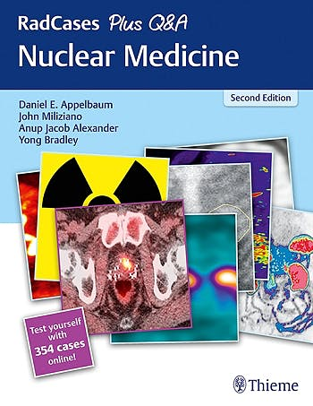 Portada del libro 9781626232563 RadCases Plus Q&A Nuclear Medicine