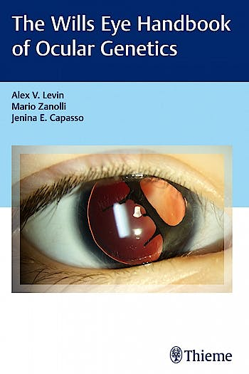 Portada del libro 9781626232938 Wills Eye Handbook of Ocular Genetics