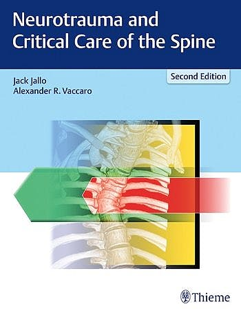 Portada del libro 9781626233416 Neurotrauma and Critical Care of the Spine