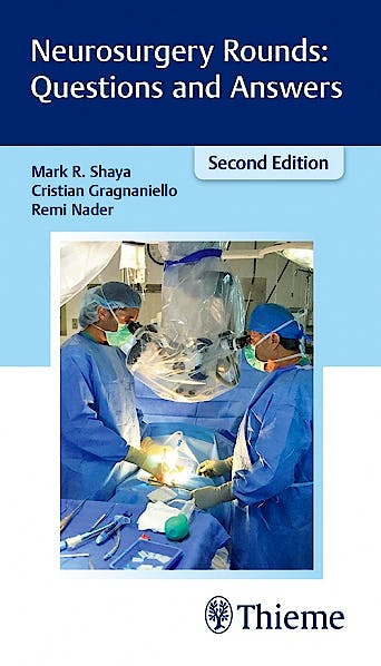 Portada del libro 9781626233461 Neurosurgery Rounds: Questions and Answers